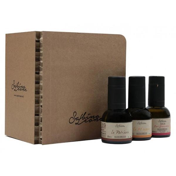 Sabino Leone - Tasting Box - Organic Italian Extra Virgin Olive Oil - 100 ml