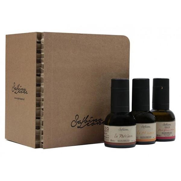 Sabino Leone - Box Degustazione - Olio Extravergine di Oliva Biologico Italiano - 100 ml