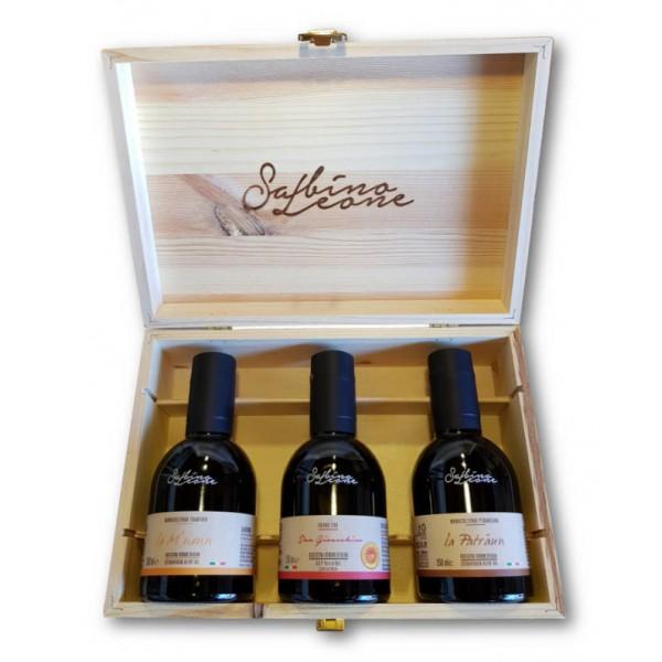 Sabino Leone - Tasting Box - Organic Italian Extra Virgin Olive Oil - 250 ml