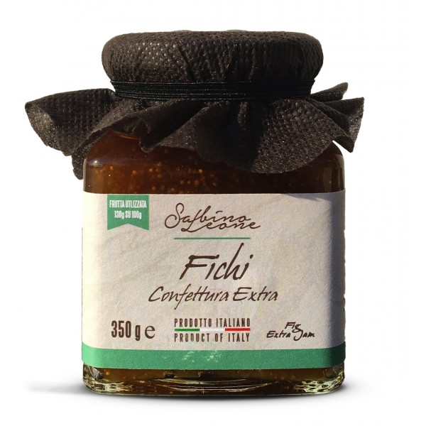 Sabino Leone - Confettura di Fichi - 31 Delizie - Marmellate e Confetture - Marmellate Artigianali Biologiche
