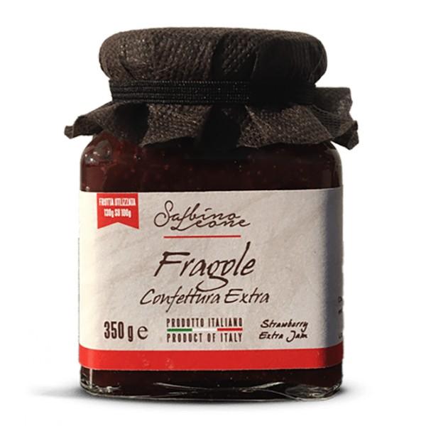 Sabino Leone - Confettura di Fragole - 31 Delizie - Marmellate e Confetture - Marmellate Artigianali Biologiche