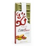Bacco - Tipicità al Pistacchio - Ciokkobacco Maxi - Tavoletta Cioccolato Bianco al Pistacchio - Cioccolato Artigianale - 400 g