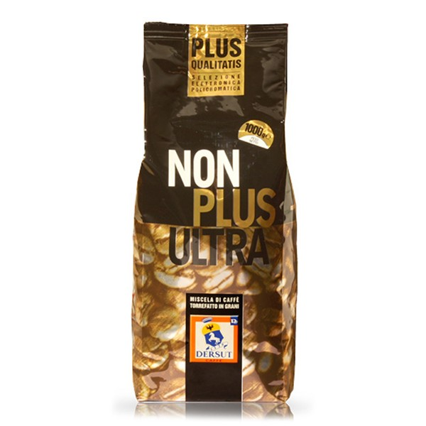 Dersut Caffè - Non Plus Ultra - 100 % Arabica Coffee in Grains - Coffee Beans - 1 Kg