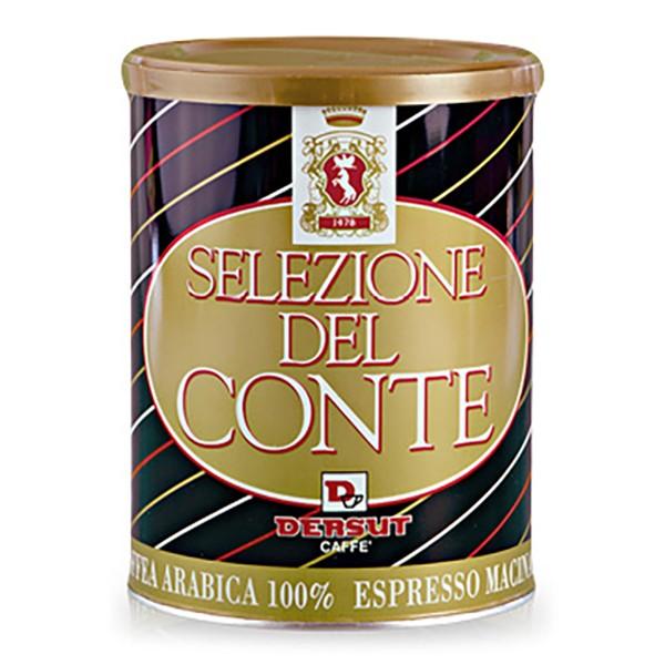 Dersut Caffè - Selezione Del Conte - 100 % Ground Coffee - Grinded Coffee - 250 g