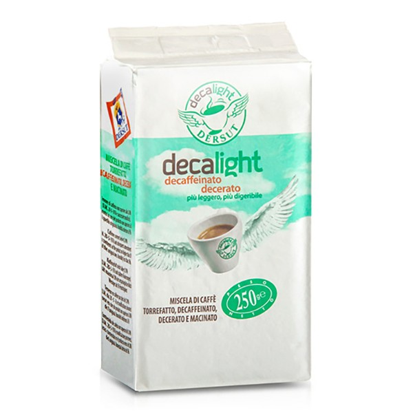 Dersut Caffè - Decalight Grinded Coffee - Grinded Coffee - 250 g