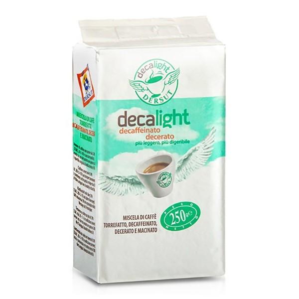 Dersut Caffè - Caffè Decalight Macinato - Caffè Macinato - 250 g