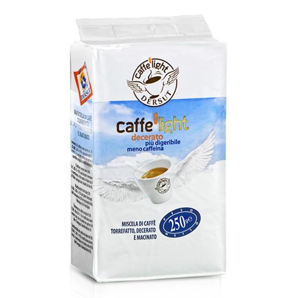 Dersut Caffè - Caffè Light Macinato - Caffè Macinato - 250 g