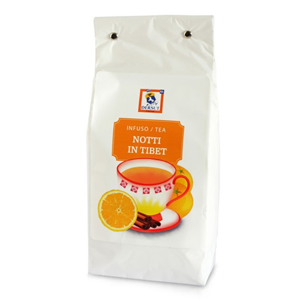 Dersut Caffè - Tè Notti in Tibet Dersut - Arancia Cannella - Tè di Alta Qualità - Tè, Tisane e Infusi - 400 g