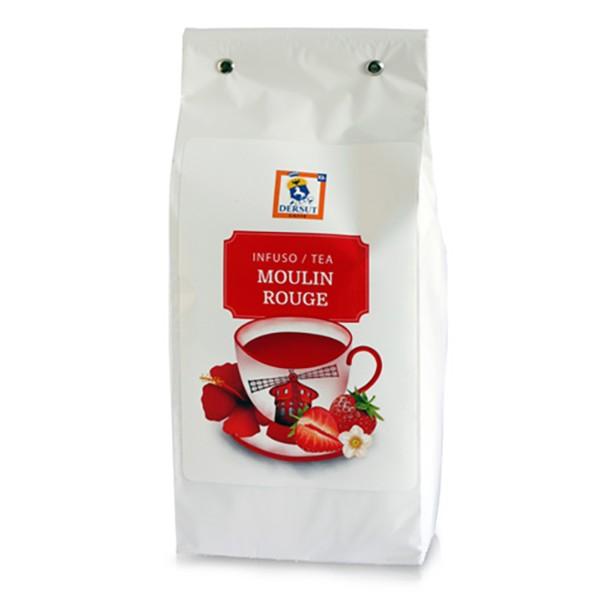Dersut Caffè - Tè Moulin Rouge Dersut - Fragoline di Bosco, Mela e Kiwi - Tè di Alta Qualità - Tè, Tisane e Infusi - 400 g