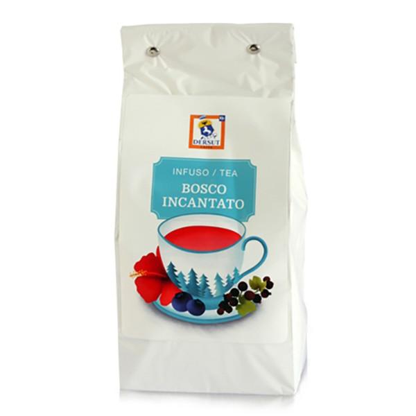 Dersut Caffè - Tè Bosco Incantato Dersut - Frutti di Bosco e Fiori di Karkadè - Tè di Alta Qualità - Tè, Tisane e Infusi - 400 g