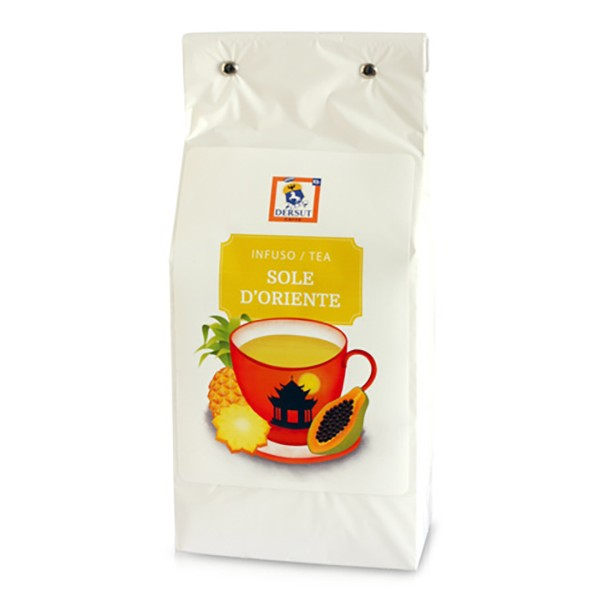 Dersut Caffè - Tea Eastern Sun Dersut - Pineapple and Papaya - High Quality Tea - Tea, Herbal Teas and Infusions - 400 g