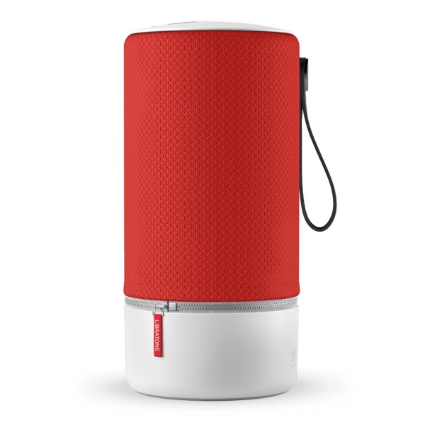 Libratone - Zipp - Rosso Vittoria - Altoparlante di Alta Qualità - Airplay, Bluetooth, Wireless, DLNA, WiFi