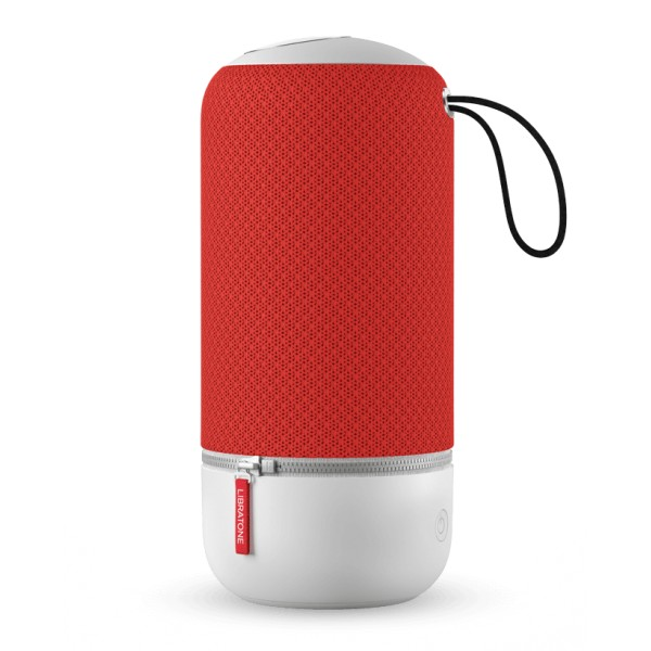 Libratone - Zipp Mini - Rosso Vittoria - Altoparlante di Alta Qualità - Airplay, Bluetooth, Wireless, DLNA, WiFi