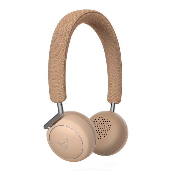 Libratone - Q Adapt On-Ear - Elegant Nude - High Quality Headphones Earphones - Active Noise Canceling - Lightning - CityMix