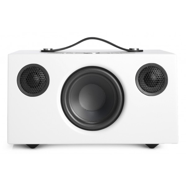 Audio Pro - Addon C5 - Bianco - Altoparlante di Alta Qualità - WLAN Multi-Room - Airplay, Stereo, Bluetooth, Wireless, WiFi
