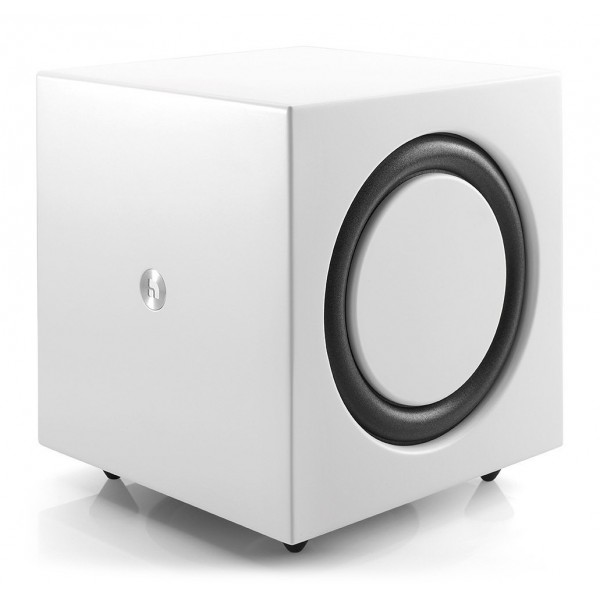 Audio Pro - Addon C-SUB - Bianco - Subwoofer di Alta Qualità - WLAN Multi-Room - Airplay, Stereo, Bluetooth, Wireless, WiFi