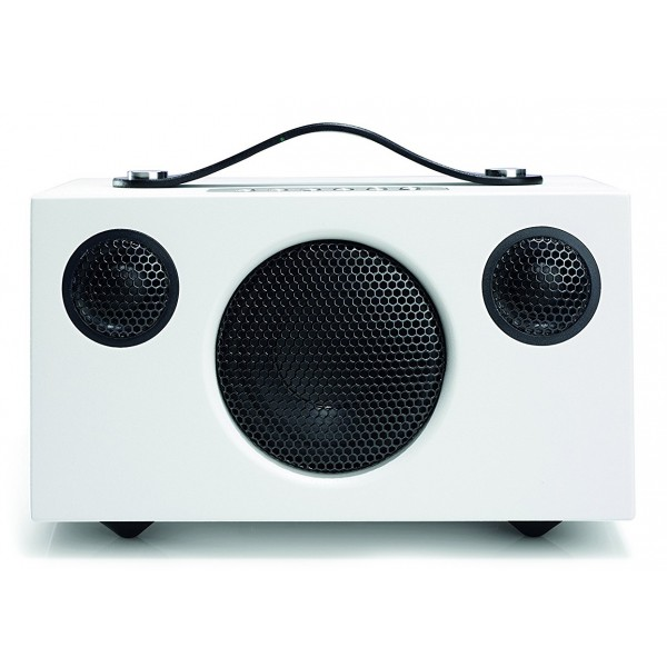 Audio Pro - Addon T3 - Bianco - Altoparlante di Alta Qualità - Portatile Wireless - USB, Stereo, Bluetooth, Wireless