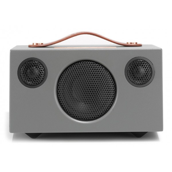 Audio Pro - Addon T3 - Grey - High Quality Speaker - Wireless Portable Speaker - USB, Stereo, Bluetooth, Wireless