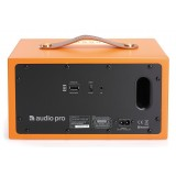 Audio Pro - Addon T5 - Arancione - Altoparlante di Alta Qualità - Alimentato Wireless - USB, Stereo, Bluetooth, Wireless