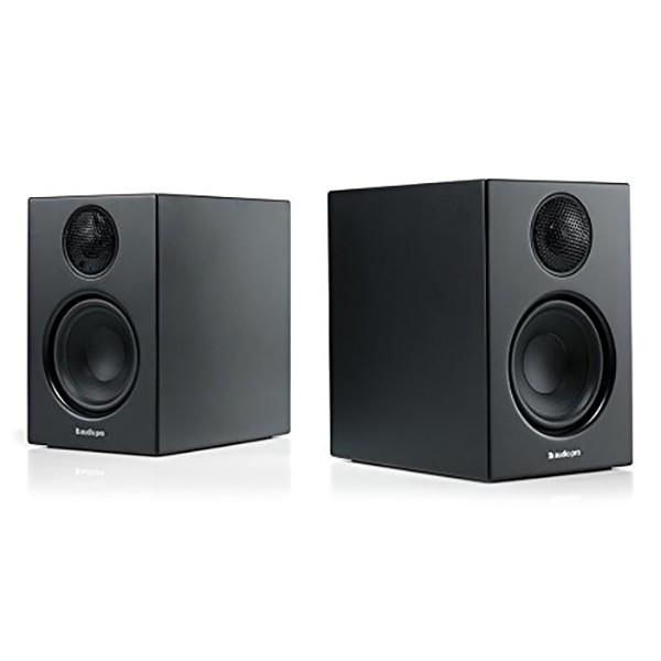 Audio Pro - Addon T14 - Black - High Quality Speaker - Powered Wireless Bookshelf HiFi - USB, Stereo, Bluetooth, Wireless