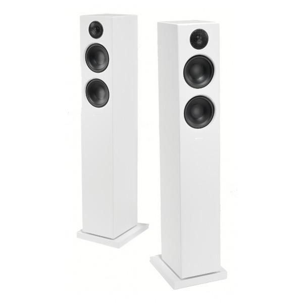 Audio Pro - Addon T20 - White - High Quality Speaker - Powered Wireless Floorstanding HiFi - USB, Stereo, Bluetooth, Wireless