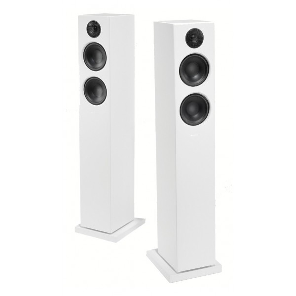 Audio Pro - Addon T20 - Bianco - Altoparlante di Alta Qualità - Floorstanding Wireless HiFi - USB, Stereo, Bluetooth, Wireless