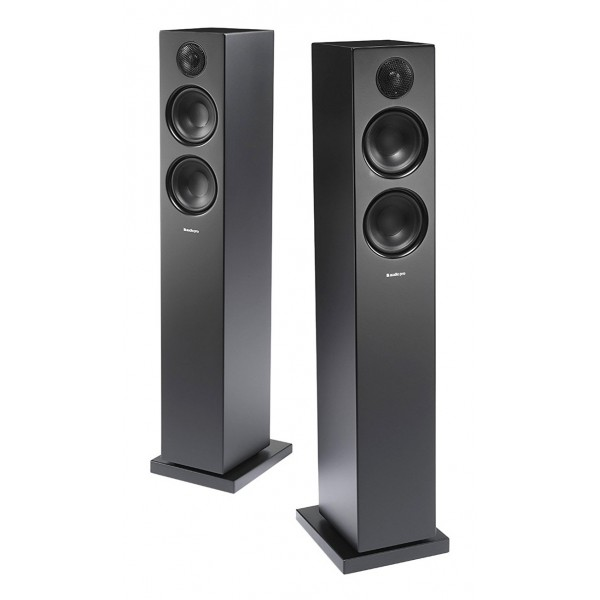 Audio Pro - Addon T20 - Nero - Altoparlante di Alta Qualità - Floorstanding Wireless HiFi - USB, Stereo, Bluetooth, Wireless