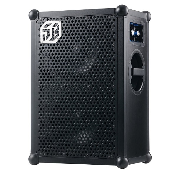 Soundboks - Soundboks 2 - Black - The Loudest Portable Powered Bluetooth Speaker - 122 dB - Supreme Sound - Military Batteries