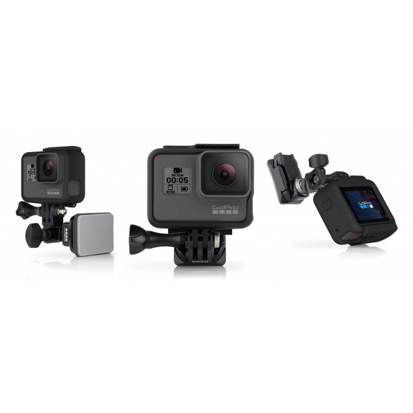GoPro - Supporto Casco Frontale + Laterale - Accessori GoPro