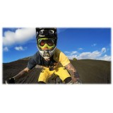 GoPro - Supporto Casco Frontale + Laterale - Accessori GoPro