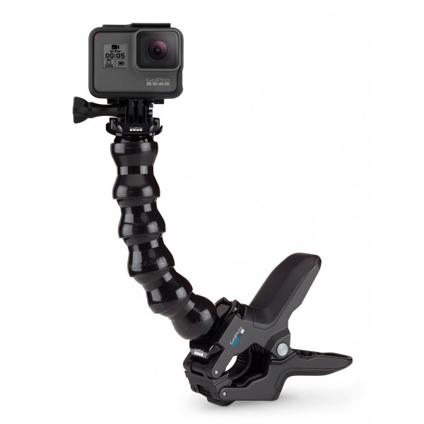 GoPro - Jaws - Flex Clamp - Montaggio Fisso per Videocamera - Accessori GoPro