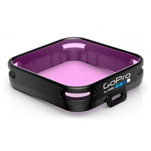 GoPro - Filtro da Immersione Magenta per Custodia Standard + Blackout + Camo - Accessori GoPro