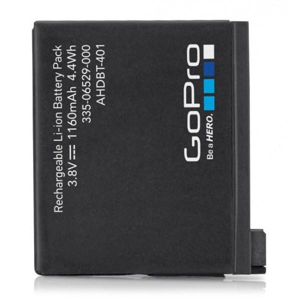 GoPro - Batteria Ricaricabile per HERO4 Black / HERO4 Silver - Accessori GoPro