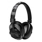 Master & Dynamic - MW60 - Limited Edition - Scott Campbell Studio - Metallo Nero / Pelle Nera - Cuffie Auricolari Wireless