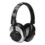 Master & Dynamic - MW60 - Limited Edition - Scott Campbell Studio - Metallo Nero / Pelle Bianca - Cuffie Auricolari Wireless