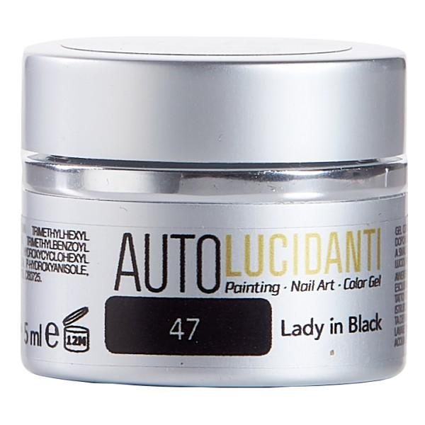 Crisavì Luxury Nail - Crisa Color - Nero - Autolucidanti - Linea Gel Crisavì Lux