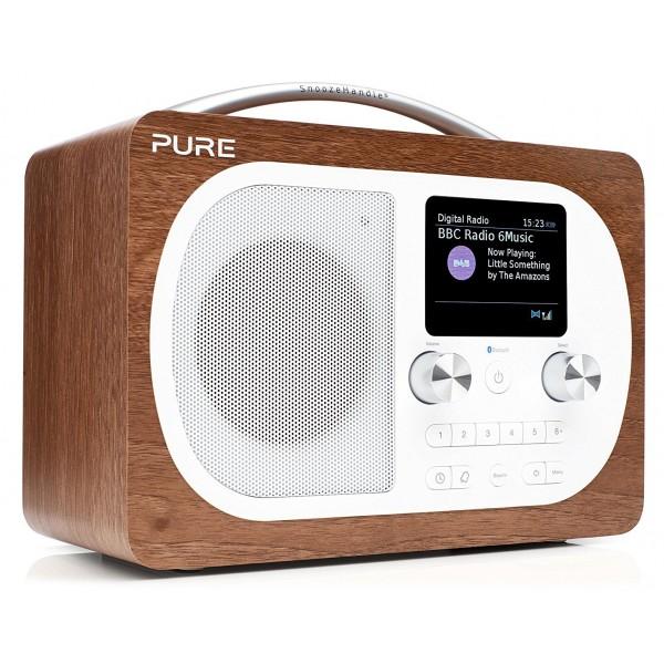 Pure - Evoke H4 - Noce - Radio Portatile DAB / DAB + Radio FM con Bluetooth - Radio Digitale di Alta Qualità