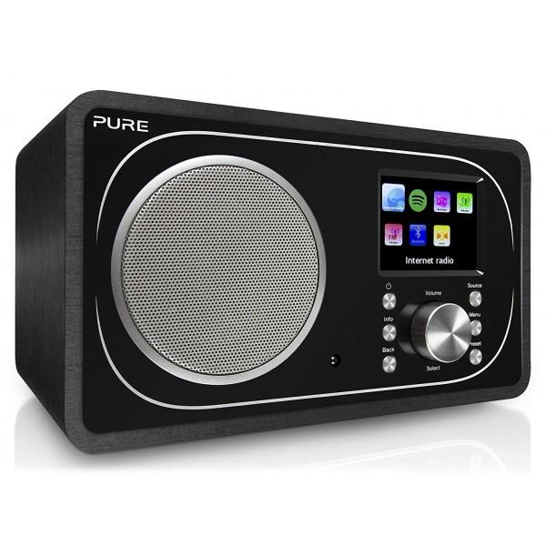 Pure - Evoke F3 - Nero - Radio Portatile DAB / DAB + Radio FM con Bluetooth - Radio Digitale di Alta Qualità