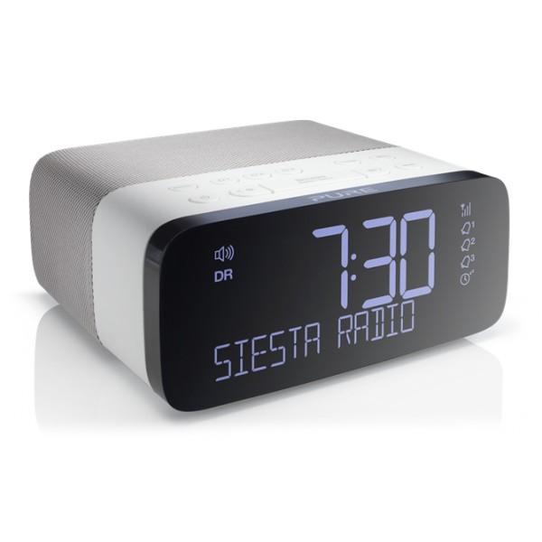 Pure - Siesta Rise - Bedside DAB/DAB+ and FM Radio - High Quality Digital Radio