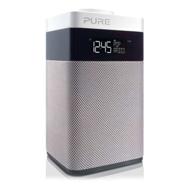 Pure - Pop Midi - Radio Digitale DAB e FM Compatta e Portatile - Radio Digitale di Alta Qualità