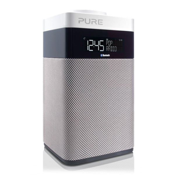 Pure - Pop Midi Bluetooth - Pop Midi BT - Radio Digitale DAB e FM Compatta Portatile Bluetooth - Radio Digitale di Alta Qualità