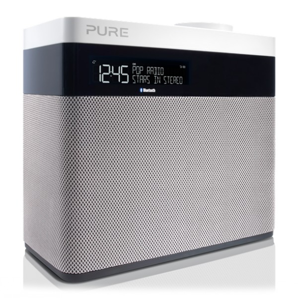 Pure - Pop Maxi con Bluetooth - Stereo DAB Digitale e Radio FM con Bluetooth - Radio Digitale di Alta Qualità