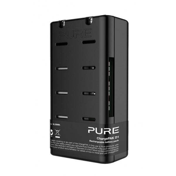 Pure - ChargePAK D1 - Batteria Ricaricabile - Radio Digitale di Alta Qualità