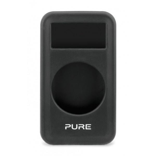 Pure - Move 2500 Cover in Gel - Nero - Custodia in Gel Resistente all' Acqua - Radio Digitale di Alta Qualità