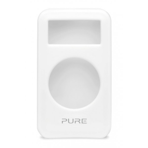 Pure - Move 2500 Cover in Gel - Bianco - Custodia in Gel Resistente all' Acqua - Radio Digitale di Alta Qualità