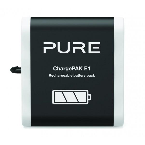 Pure - ChargePAK E1 - Batteria Ricaricabile - Radio Digitale di Alta Qualità