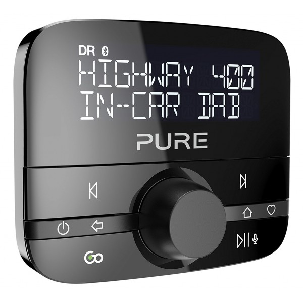 Pure - Highway 400 - Adattatore Audio per Auto In-Car con Musica DAB e Bluetooth - Radio Digitale di Alta Qualità