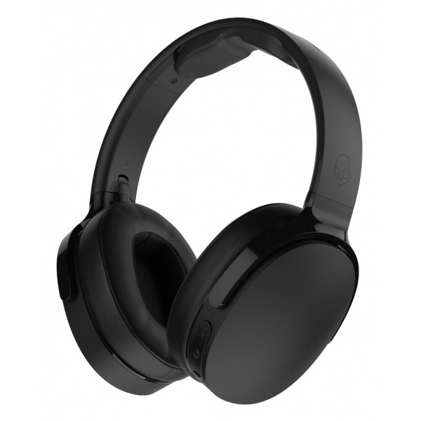 Skullcandy - Hesh 3 - Black - Bluetooth Wireless Over-Ear Headphones with Microphone - Noise Isolating Memory Foam