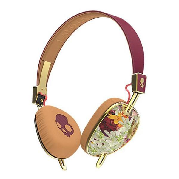 Skullcandy - Knockout - Floreali - Cuffie Auricolari da Donna Wireless On-Ear con Microfono e Audio Supremo