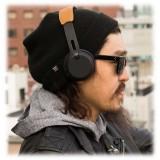 Skullcandy - Grind - Nero / Cromo - Cuffie Auricolari Bluetooth Wireless On-Ear con Microfono, Audio Supremo e Bassi Potenti